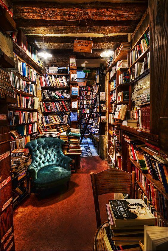 Droomlocaties voor boekliefhebbers
